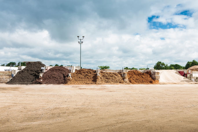 We carry a full line of landscaping materials for commercial and  residential use, available for pick up or delivery. We have a wide range of  colored mulch ... - Landscaping Dave Hausbeck Trucking Inc